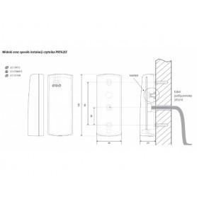 GNIAZDO POJEDYNCZE Z ZASILACZEM USB OR-AE-13140 230V 16A ORNO
